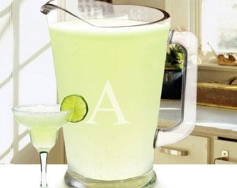 Personalized 60oz Glass Pitcher- Heavy Duty Pitcher - Gifts for Her - GC1268