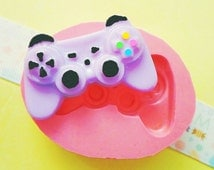 23mm Controller Flexible Silicone Mold - Decoden Kawaii Sweets Resin Fimo Polymer Clay Sculpey Wax Soap Fondant Cabochon