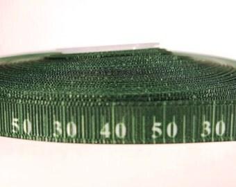 "5 yards of 3/8 inch ""football yards"" grosgrain ribbon"
