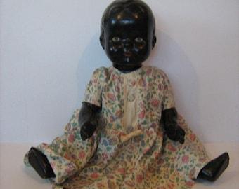 Vintage Pot Composite doll - 1930's/40's /MEMsArtShop.
