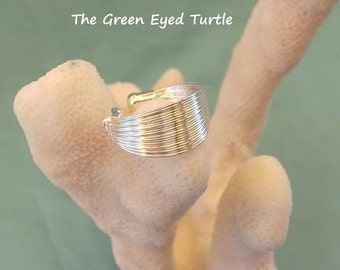 Beautiful 925 Silver Wire Wrap Ring
