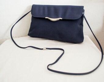 Blue Purse,bag, Shoulder Bag,1970s
