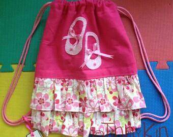 Ballerina bag, toddler bag, personalized bag,