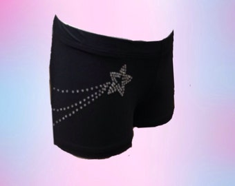 Gymnastics/dance shorts for girls