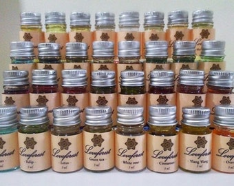 Pure Essential Oils 5ml Therapeutic Grade Aromatherapy Free Shipping