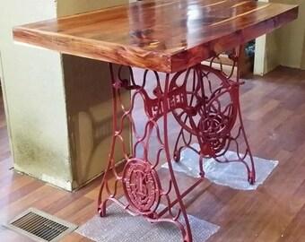 Refurbished & Reclaimed Singer Sewing Table