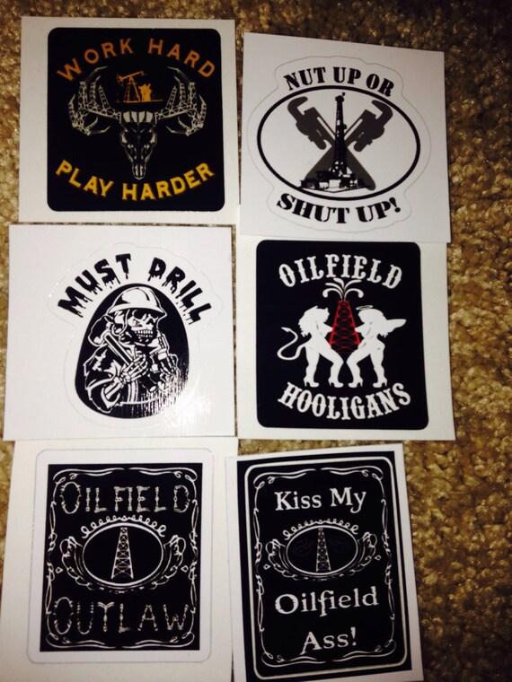 hard hat sticker pack by erinsoilfield on etsy