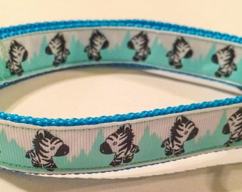 Baby zebra collar