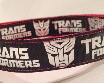Transformer dog collar