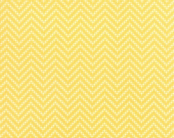 Dotted Chevron in Yellow from Fresh Air by American Jane for Moda , Half Yard, 100% cotton quilt weight fabric, 21676 17