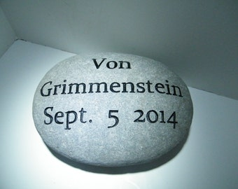Motivational Stones/Wedding Stone / Anniversary Stone/Personalize Engraved Stones