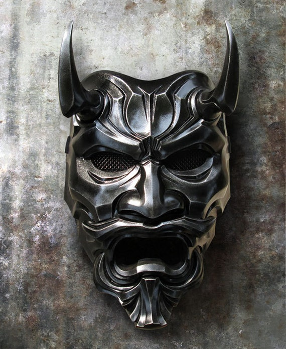 Top Free Oni Irezumi Backgrounds: Uncle Oni Mask 316 Japanese Noh Style Fiberglass Art Mask