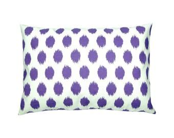Pillowcase linen look Jacobs 40 x 60 cm purple violet white