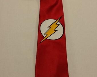 The Flash Mens NeckTie