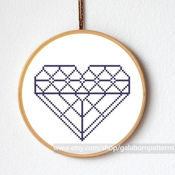 diamond painting cross stitch instructions