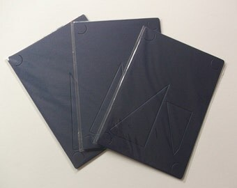 blue paper photo frame for 4x6 photo  cards