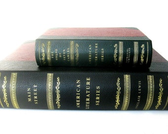 Matching Pair of Book Boxes - Small and Large