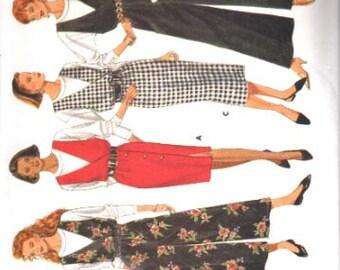 Butterick Pattern 6521 Misses Top Jumper and Jumpsuit  Size L-XL