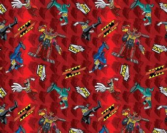 Power Rangers Fabric