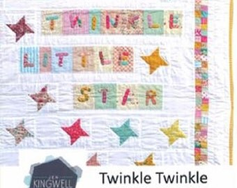 Twinkle Twinkle Quilt Pattern - Jen Kingwell - Jen Kingwell Designs - JKD 5125