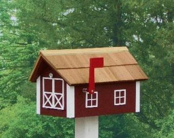 Amish Made Painted Mailbox