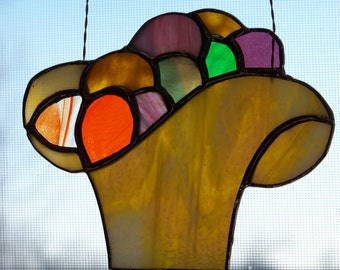 Easter Egg Basket Suncatcher