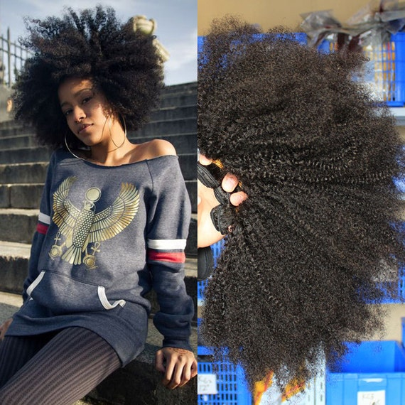 Afro Kinky Curly Hair Extensions Cheap 5a By Hairshowshow