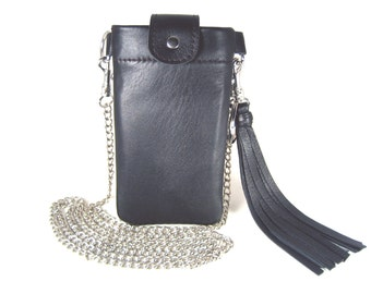 """Bodybag IPhone 6 case leather IPhone accessory leather individualized bag IPhone Smart mobile bag """"Ella"""""""