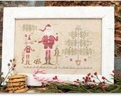 Santa's Cookies  - Cross stitch Pattern
