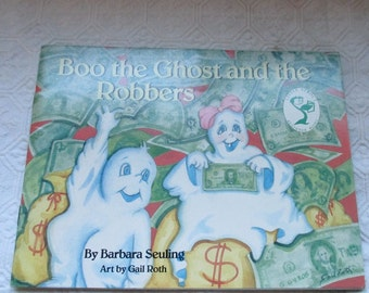 Vintage Boo the Ghost and the Robbers by Barbara Seuling