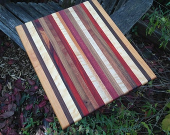Handmade Exotic Wood Cutting Board ***FREE SHIPPING***