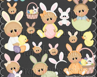 Baby's First Easter - CU Clipart