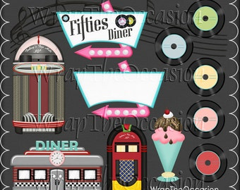 Happy Days-Diner Exclusive Clipart