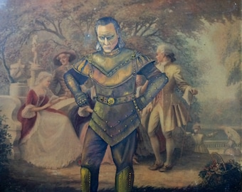 Ghostbusters Vigo the Carpathian Parody Painting, 'The Buzzing of Flies' - Limited Edition Print or Poster - Funny Vigo Ghostbusters Print