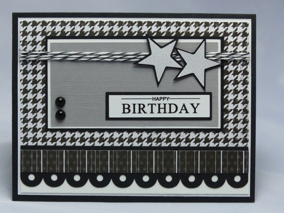 Masculine birthday cards gangcraft stampin up handmade greeting card happy birthday card birthday card bookmarktalkfo Images