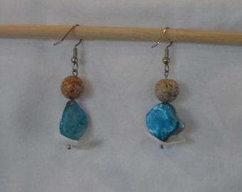 Shells at the shore earrings