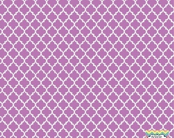 Orchid quatrefoil craft  vinyl sheet - HTV or Adhesive Vinyl -  quarterfoil pattern HTV1434