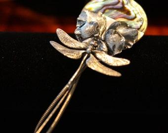 Spectacular Vintage Ermani Bulatti  Art Deco Stick Pin