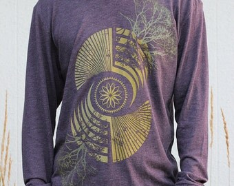 Crop Circle Sacred Geometry Clothing - REFLECTION Design