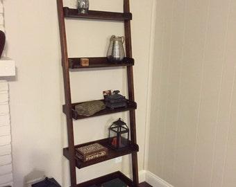 Ladder Shelf / Leaning Book Shelf