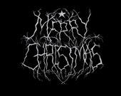 Black Metal Christmas Pos...