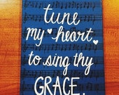Traditional Hymn Canvas