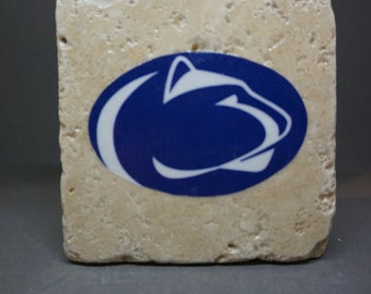 Penn State Lion Coaster (4-Pack)