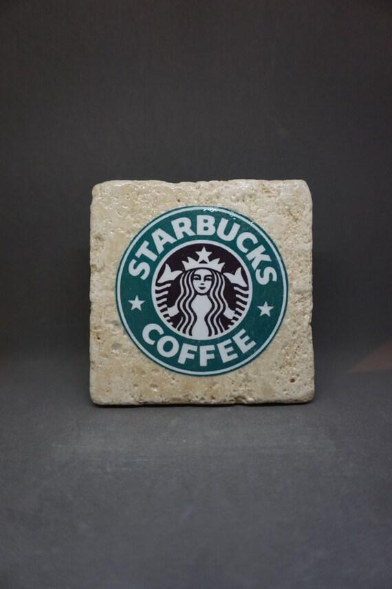 Items similar to Starbucks (1992-2010) Logo Coaster on Etsy