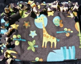 Safari Infant Blanket