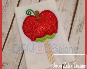 Carmel or Candy Apple Applique Design