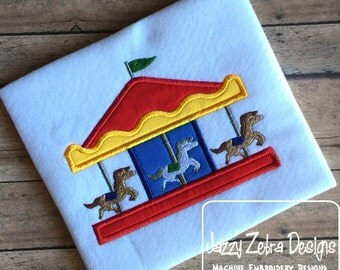 Carrousel Applique Design