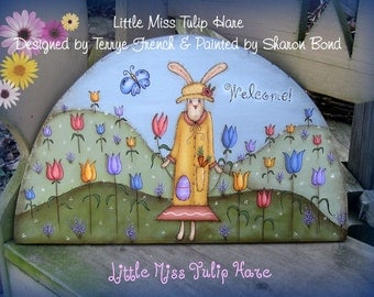 Little Miss Tulip Hare - email pattern packet by Sharon Bond