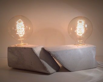 Minimal Concrete Lamps---Set!