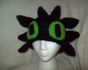 How to Train your Dragon Inspired Toothless Hat